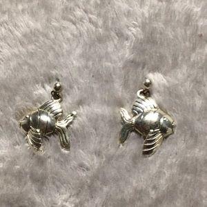 Jewelry - Silver Fish Earrings